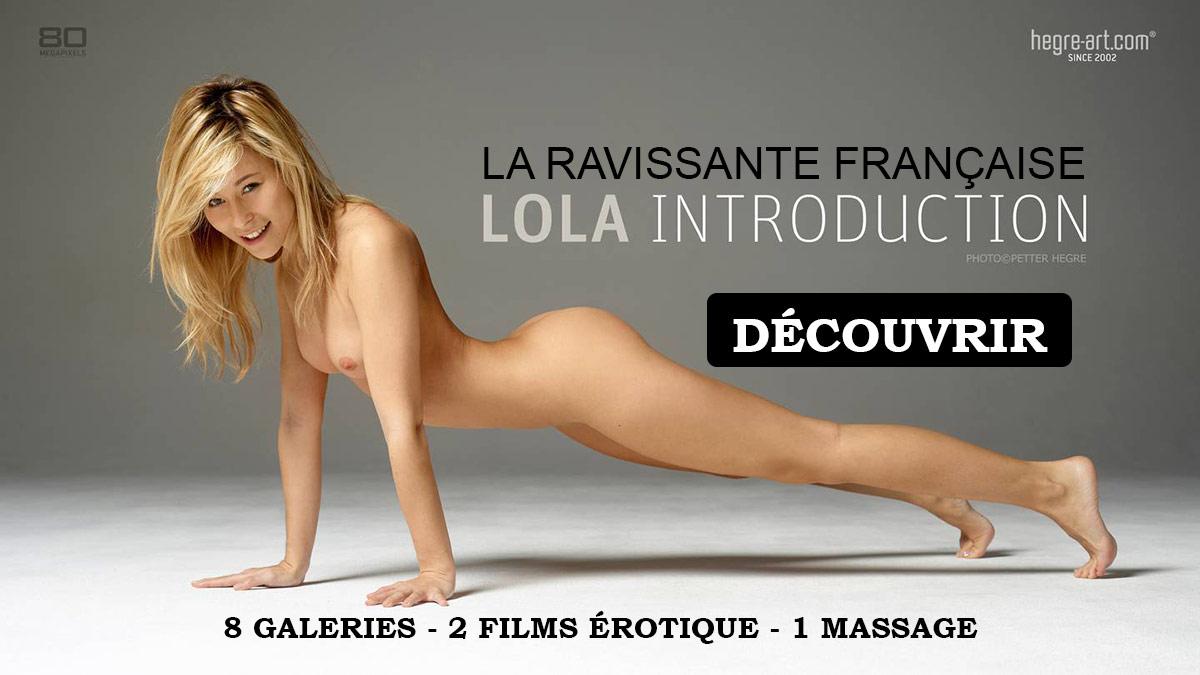 Lola Hegre modèle française