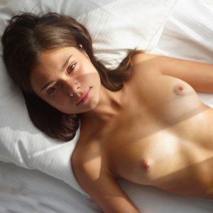 Hegre Venus topless breast nude