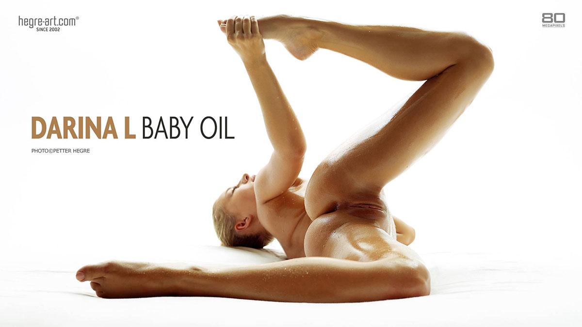 Darina hegre baby Oil