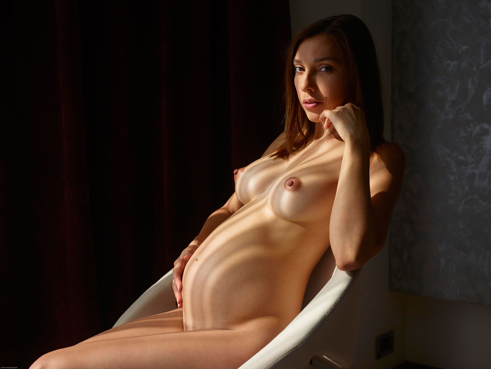 Can Hot naked pregnant pussy share